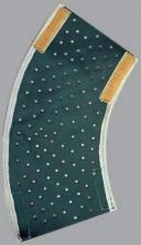 Chránič předloktí kožený suchý zip 20 cm