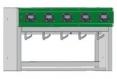 Nabíjecí stojan pro 5 hornický svítidel LED Miner