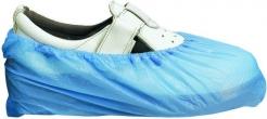 Návlek na obuv SHIELD silný PE stahovací gumička modrý