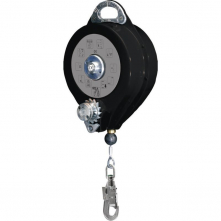Elevátor DELTA PROTECTOR 23M zachycovač pádu a vyzdvihovač nerezové galvanizované lanko 4,8 mm x 20 m černo/šedý