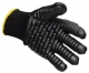 Rukavice VIBRASAFE  antivibrační bavlna/pryž černé velikost XL
