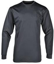 Termotričko PW Thermal Baselayer dlouhý rukáv ploché švy materiál odvádí vlhkost od těla tmavě šedé