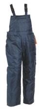 Kalhoty TITAN s laclem zateplené pružné šle modré velikost XXL