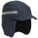 Čepice se skořepinou PROTECTOR FB3 WINTER zateplená zkrácený kšilt protažená do týla tmavě modrá