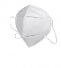 Respirátor GP FFP2 skládaný spona na nose smyčky okolo uší balení jednotlivě výroba CZ bílý