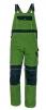 Montérkové kalhoty CERVA STANMORE laclové středně zelené/černé velikost 54