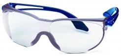 Brýle UVEX SKYLITE modré straničky odolné nepoškrábání čiré