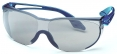 Brýle UVEX SKYLITE Supravision Sapphire straničky modré nepoškrábatelný zorník šedý