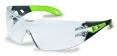 Brýle UVEX PHEOS Supravision Excellence černo/zelené rámeček velkoplošný zorník nemlživé nepoškrábatelné čiré