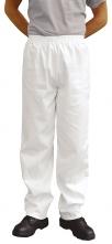 Kalhoty BAKER Fortis Plus elastický pas kapsy bílé velikost XL