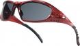 Brýle BREEZE rám červený ochrana proti UV tónované