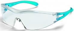 Brýle UVEX X-ONE modré straničky nepoškrábatelné UV filtr čiré
