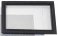 Těsnění průzoru tryskací kukly Honeywell COMMANDER ZGH II proti vnikání prachu pryžové černé