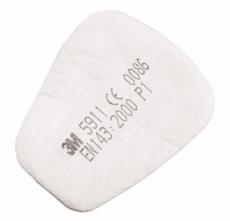 Filtrační vložka 3M 5911 P1R pro polomasky a masky 3M 6000