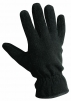 Rukavice CERVA MYNAH pětiprsté šité flísové zateplené měkkou podšívkou černé