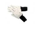 Rukavice TEMPEX INVENTUR zateplené mrazírenské měkká hovězí lícovka v dlani elastický náplet šedé