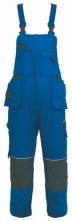 Montérkové kalhoty ORION KRYŠTOF s laclem modro/černé