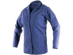 Montérková blůza CXS LADA bavlna vypasovaná kapsy zapínání na knoflíky tmavě modrá