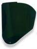 Zorník k držáku celoobličejového štítu Honeywell Bionic IR5 náhradní polykarbonátový tónovaný zelený