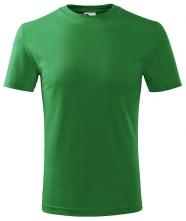Tričko Classic 160 dětské kulatý výstřih trávově zelené