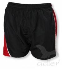 Šortky pánské SPORT černo/červené