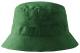 Klobouček MALFINI Classic bavlna broušený kepr obšité větrací otvory začištěné švy zesílená obruba lahvově zelený