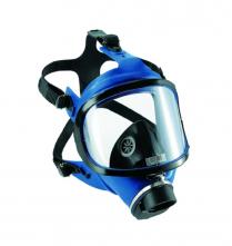 Celoobličejová maska SCOTT SARI silikonová lícnice žlutá