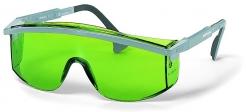 Brýle UVEX ASTROSPEC černý rámeček zorník odolný proti poškrábání zelené