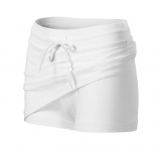 Sukně Skirt 2 v 1 bavlna 200g bílá velikost S