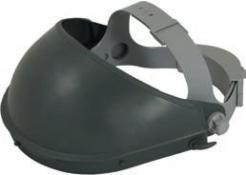 Držák štítu KULEN hlavový k zorníkům FH66 ochrana čela potní pásek nastavitelný šedý