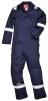 Kombinéza Bizweld Iona FR BA 330g svářečská třída 1 ochrana proti plameni reflexní pruhy tmavě modrá