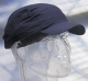 Náhradní potah na čepici se skořepinou FBC+ standardní délka kšiltu tmavě modrá