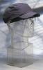 Čepice se skořepinou PROTECTOR FBC+HC22RP vyztužená protinárazová větrací boky zkrácený kšilt 5 cm šedá