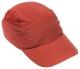 Náhradní potah na čepici se skořepinou FBC+ standardní délka kšiltu červená