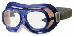 Brýle B-B 19 uzavřené s gumičkou modré polykarbonátové čiré