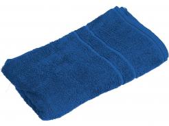 Ručník bavlněný froté 50x100 cm jednobarevný středně modrý