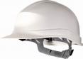 Přilba ZIRCON I UV rezistentní HDPE 6 bodů 440V obvod nastavitelný páskem bílá