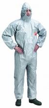 Ochranná kombinéza DuPont Tychem F chemicky odolná šedá velikost XL