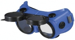 Brýle Okula B-V 24 svářečské odklápěcí modré