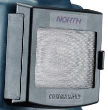 Náhradní průzor kukly pro tryskače Honeywell Commander ZGH II vnitřní rámeček + vnější dvířka včetně spony plastový černý