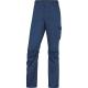 Montérkové kalhoty DELTA PANOSTYLE PANOSTRPA do pasu materiál PES/BA/elastan 240g modro/červené