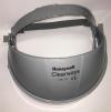 Držák štítu CLEARWAYS na hlavu s chráničem čela elastická nastavovací páska bez zorníku šedý