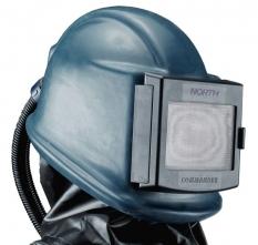 Ochranná dýchací kukla pro tryskače HONEYWELL COMMANDER II ZGH laminátová s gumovým potahem a koženou vestou