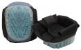 Nákoleníky GEL konstrukce PVC plněný gelem s elastickými popruhy černé