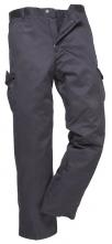 """Kalhoty COMBAT pánské do pasu s kapsami tmavě modré velikost 40""""-XL"""