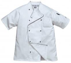 Rondon AIR CHEFS dvouřadý krátký rukáv síťovina bílý velikost XL
