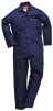 Kombinéza Safe Welder Flame Resistant Bavlna 330g svářečská třída 1 elastická záda tmavě modrá