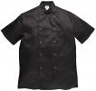 Rondon CUMBRIA CHEFS krátký rukáv černý velikost XL