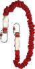 Tlumič pádu MIMAS17 roztažitelné lano 1,4 m červený