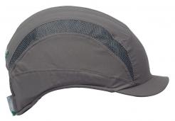 Čepice se skořepinou PROTECTOR FB3 mikroštítek šedá
